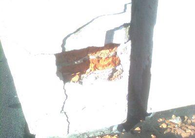 nieuszczelnione i niezabezpieczone przewody kominowe powodują niszczenie komina